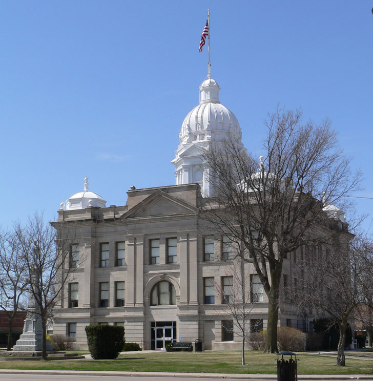 Locations Served - Minden - Kearney County Courthouse -Thekearney county